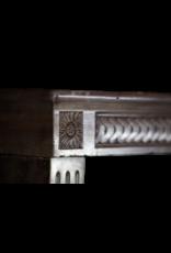 19. Jahrhundert Gemütlicher Kaminmaske In Französisch Stein
