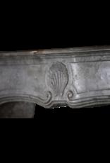 Feine Klassische Französisch Zweifarbig Stein Kaminmaske