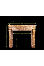 Rich French LXVI Style Fireplace Surround