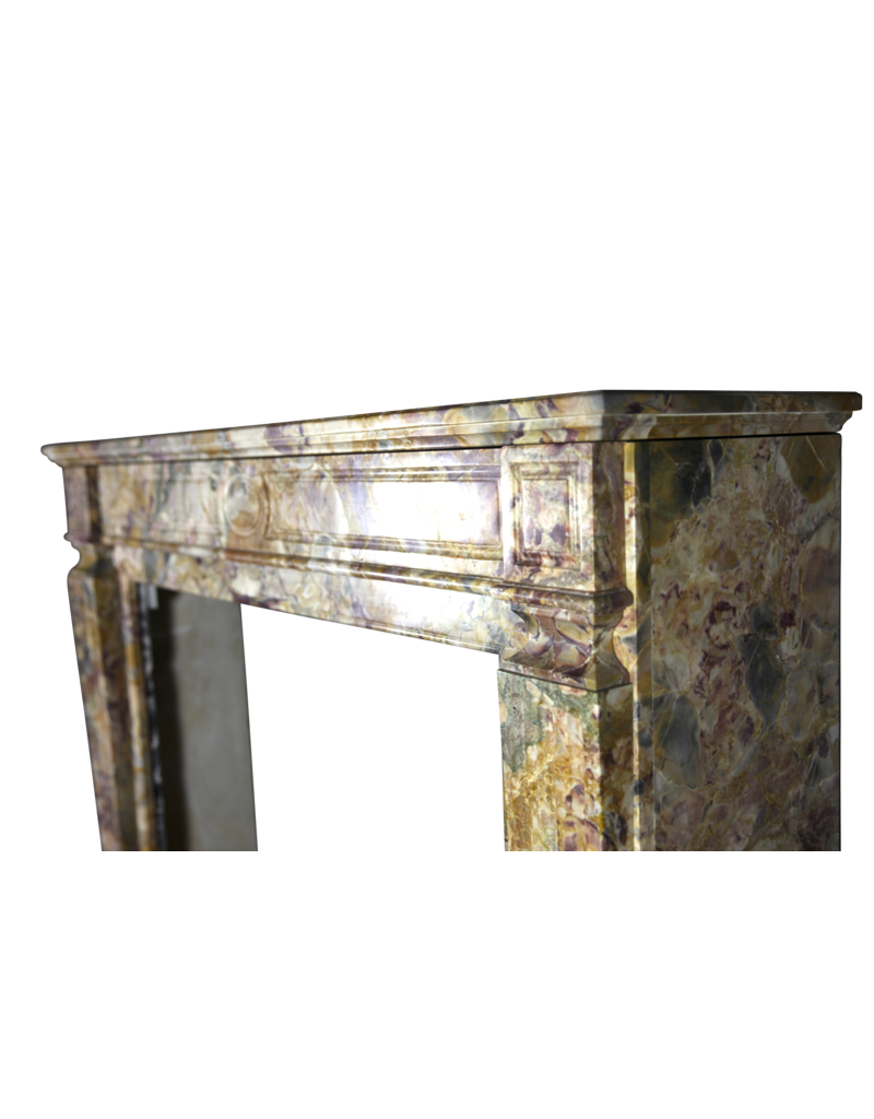 The Antique Fireplace Bank Chique Mármol Francés Chimenea