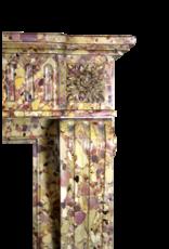 Feine Tiefe Und Reiche Farbe Antike Kaminmaske