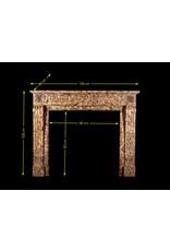 The Antique Fireplace Bank Feine Tiefe Und Reiche Farbe Antike Kaminmaske