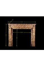 Fine Deep And Rich Color Antique Fireplace Surround