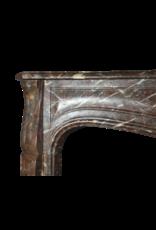 Große Belgische Antik Kaminmaske