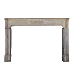 The Antique Fireplace Bank LXIV French Style Stone Fireplace Surround