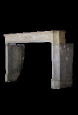 The Antique Fireplace Bank Bicolor LXIV Antiguo Francés Piedra Dura