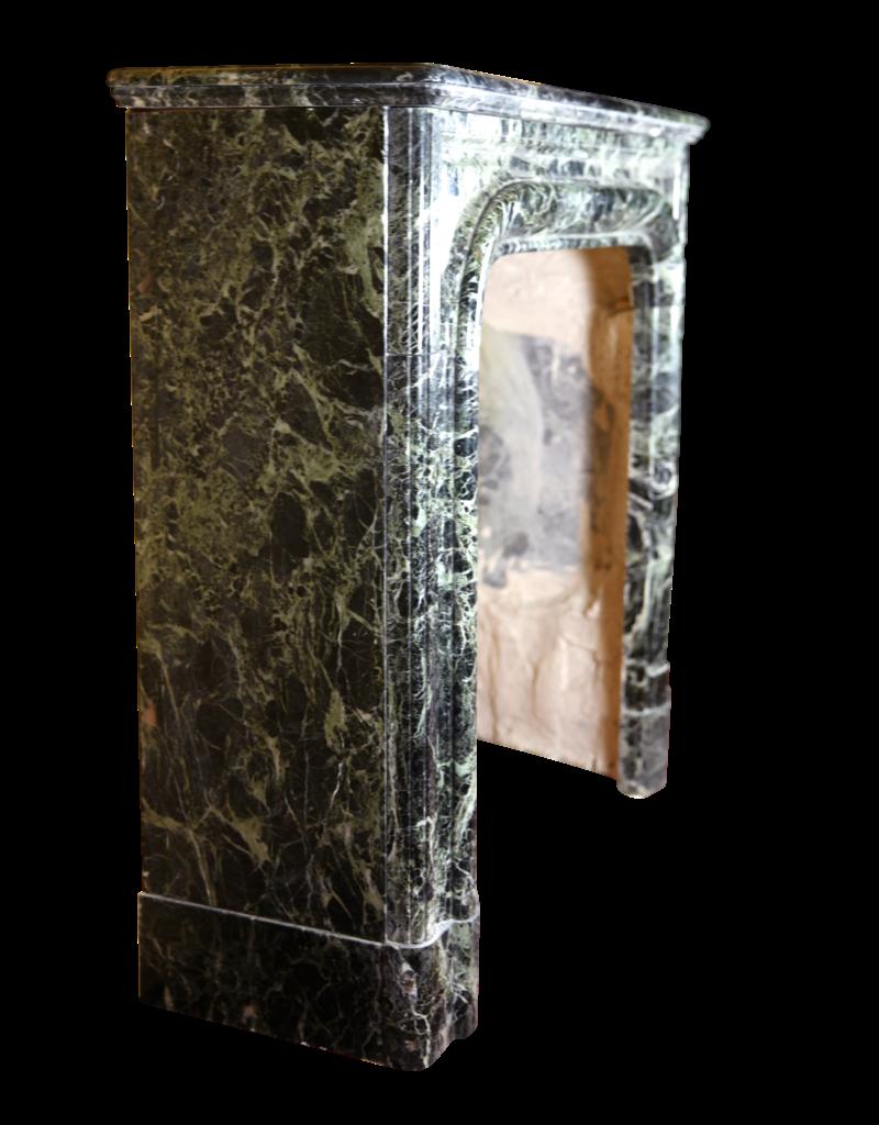 Kleines Französisch Green Marmor Jahrgang Kaminmaske