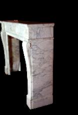 Französisch Chique Vintage-Marmor Kaminmaske