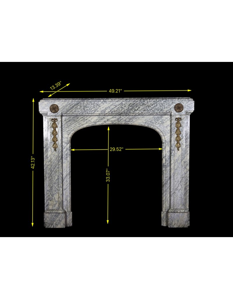 The Antique Fireplace Bank Campan Vert Vintage Fireplace Surround