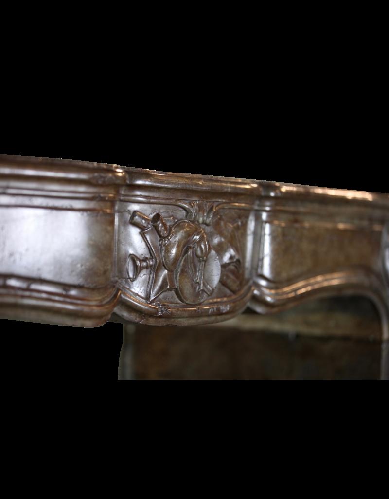 The Antique Fireplace Bank 18. Jahrhundert Directoire Period Französisch Kaminmaske
