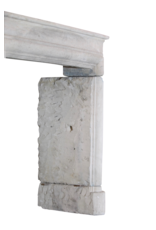 Französisch Landstil-Art Kalkstein Jahrgang Kaminverkleidung