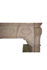 The Antique Fireplace Bank 18Th Century Fine French Fireplace Surround In Hard Stone