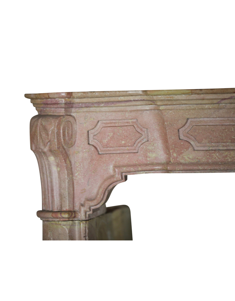 18Th Century Fine French Fireplace Surround In Hard Stone