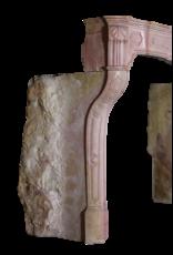 18. Jahrhundert Feine Französisch Kaminmaske In Harten Stein