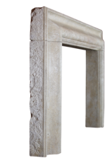 The Antique Fireplace Bank Bolection French Limestone Vintage Fireplace Surround