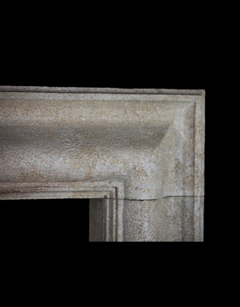 Bolection Französisch Kalkstein Jahrgang Kaminverkleidung