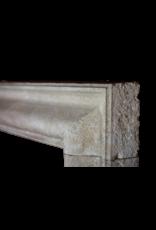 Bolection French Limestone Vintage Fireplace Surround