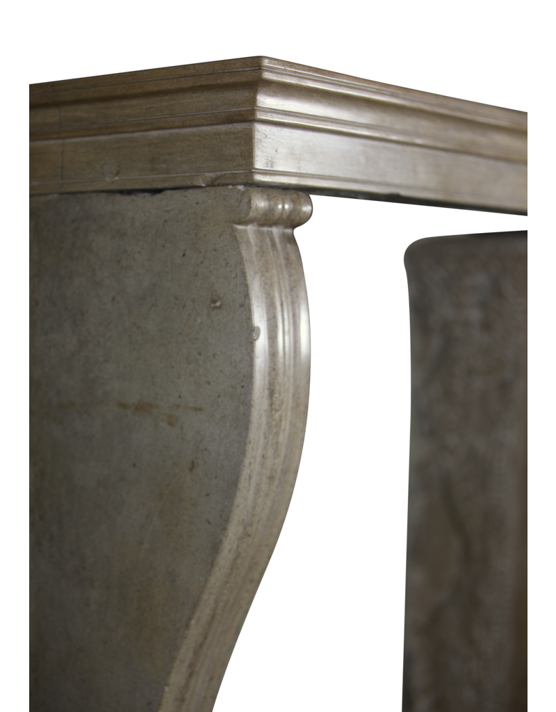 Small French Chique Antique Fireplace Surround