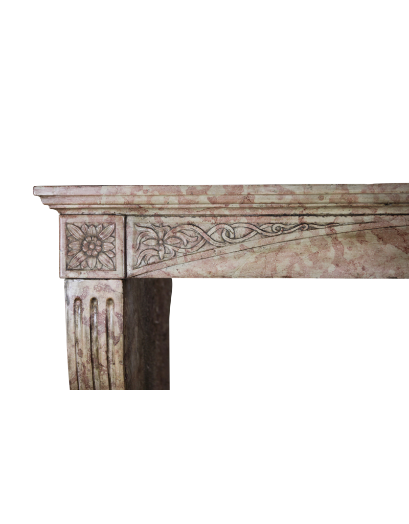 The Antique Fireplace Bank French Burgundy Antique Fireplace Surround