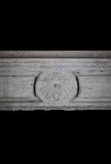 Rustikale Zweifarbig Französisch Antike Kaminverkleidung Mit Stern