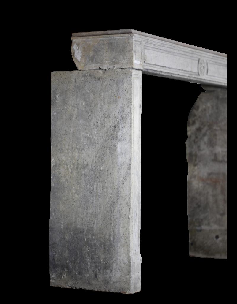 Rustikale Bicolor Französisch Antike Kaminverkleidung Mit Stern