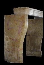 Zweifarbig Erstellt Von Natur Französisch Kaminverkleidung