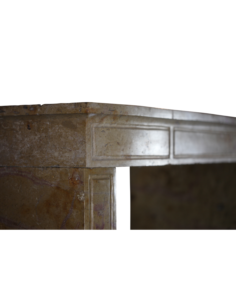 The Antique Fireplace Bank Zweifarbig Erstellt Von Natur Französisch Kaminverkleidung