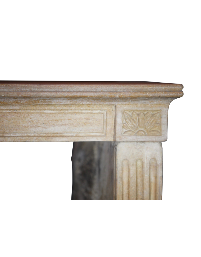 The Antique Fireplace Bank Fine Classic French Antique Marble Stone Fireplace Mantle