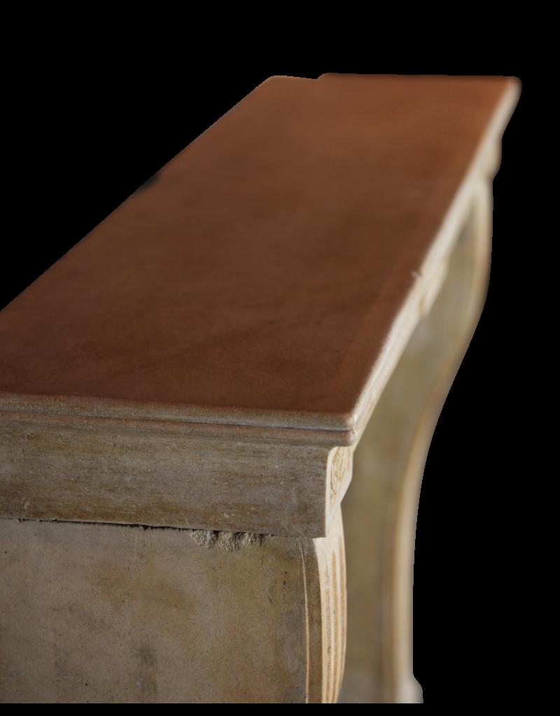 Feine Klassische Französisch Antike Marmor Stein Kamin Verkleidung