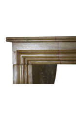The Antique Fireplace Bank Elegant Vintage Bicolor French Fireplace Surround