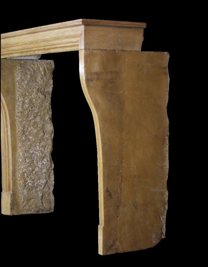The Antique Fireplace Bank Elegante Vintage Zweifarbig Französisch Kaminverkleidung