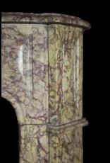 A Todo Color Clásica Francesa Pompadour Mármol De La Chimenea Pieza
