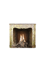 Farbe Voll Französisch Klassiker Pompadour Marmor Kamin Stück