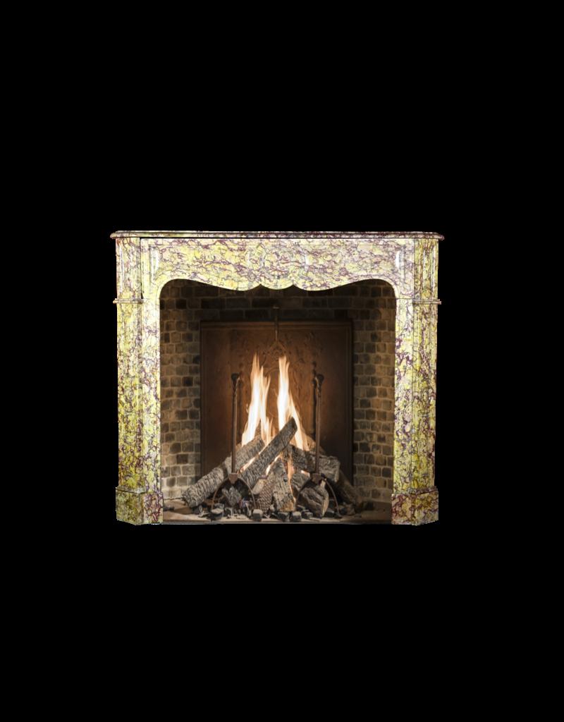 Farbe Voll Französisch Klassiker Pompadour Marmor Kamin