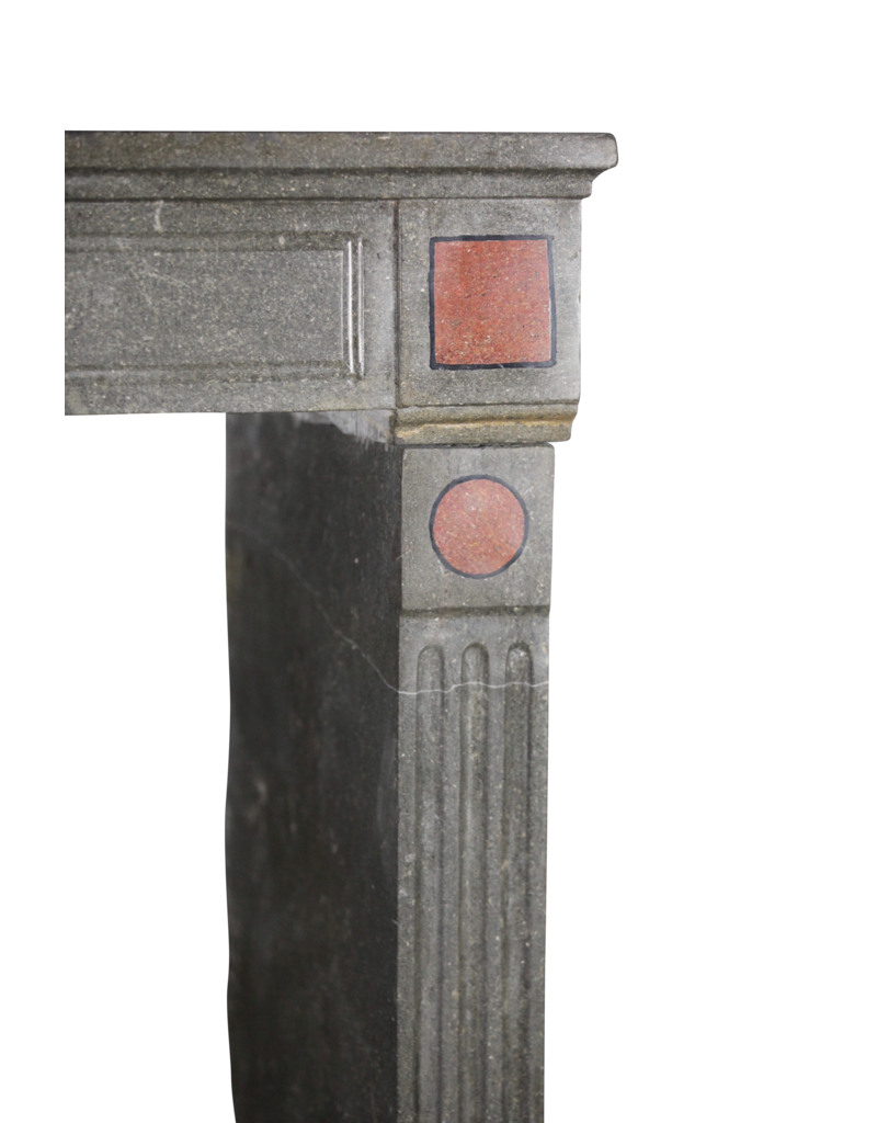 The Antique Fireplace Bank French Classic Fireplace Mantle