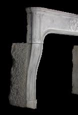 The Antique Fireplace Bank Chic Francés Antiguo De Piedra Caliza Chimenea Surround