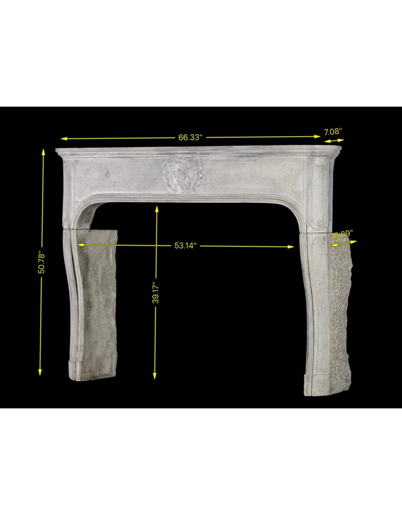 The Antique Fireplace Bank Chique French Antique Limestone Fireplace Surround