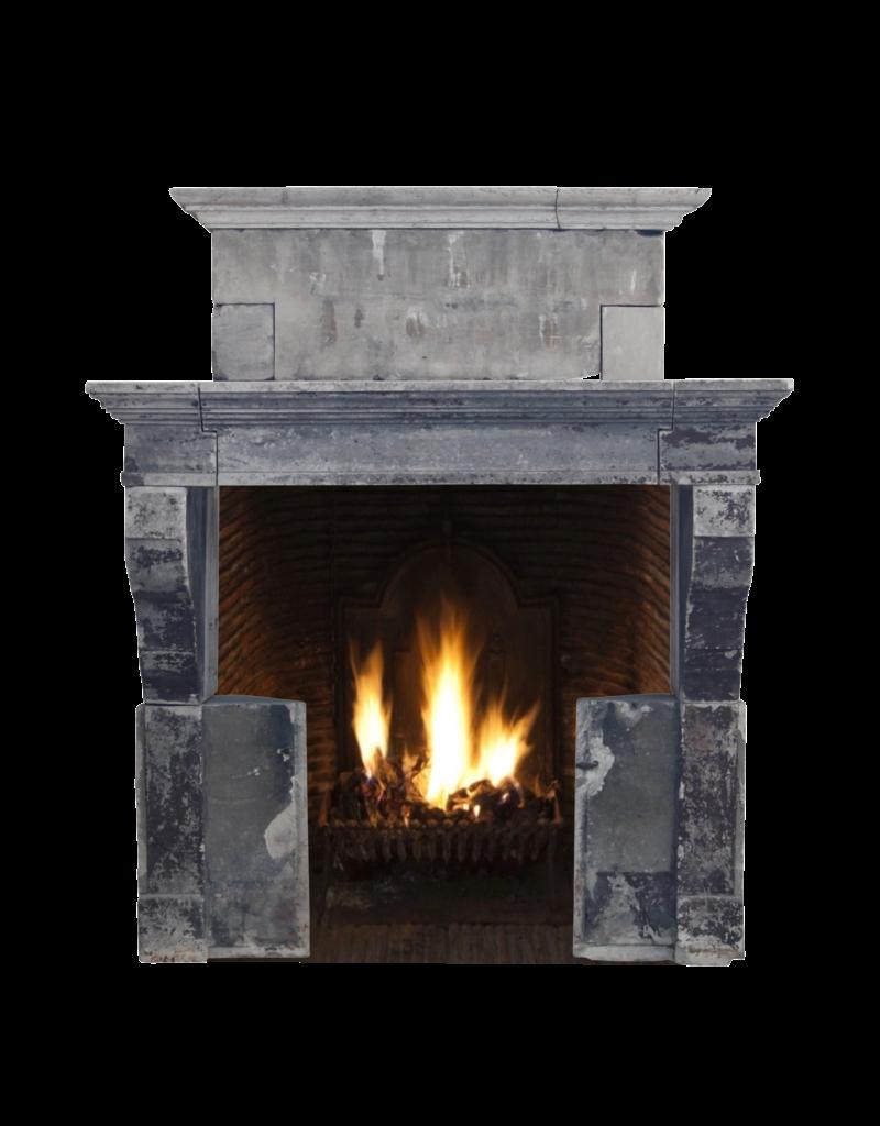 The Antique Fireplace Bank Antike Kalkstein Kamin im Französischem Landstil