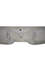 The Antique Fireplace Bank Fine French Limestone Fireplace Surround