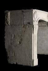 Fine French Limestone Fireplace Surround