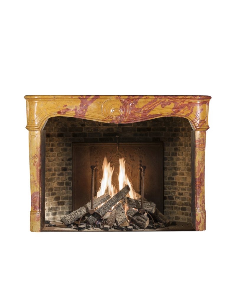 The Antique Fireplace Bank French Chique Marble Fireplace Surround