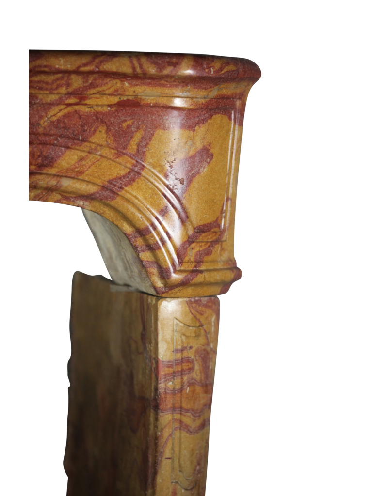 French Chique Marble Fireplace Surround