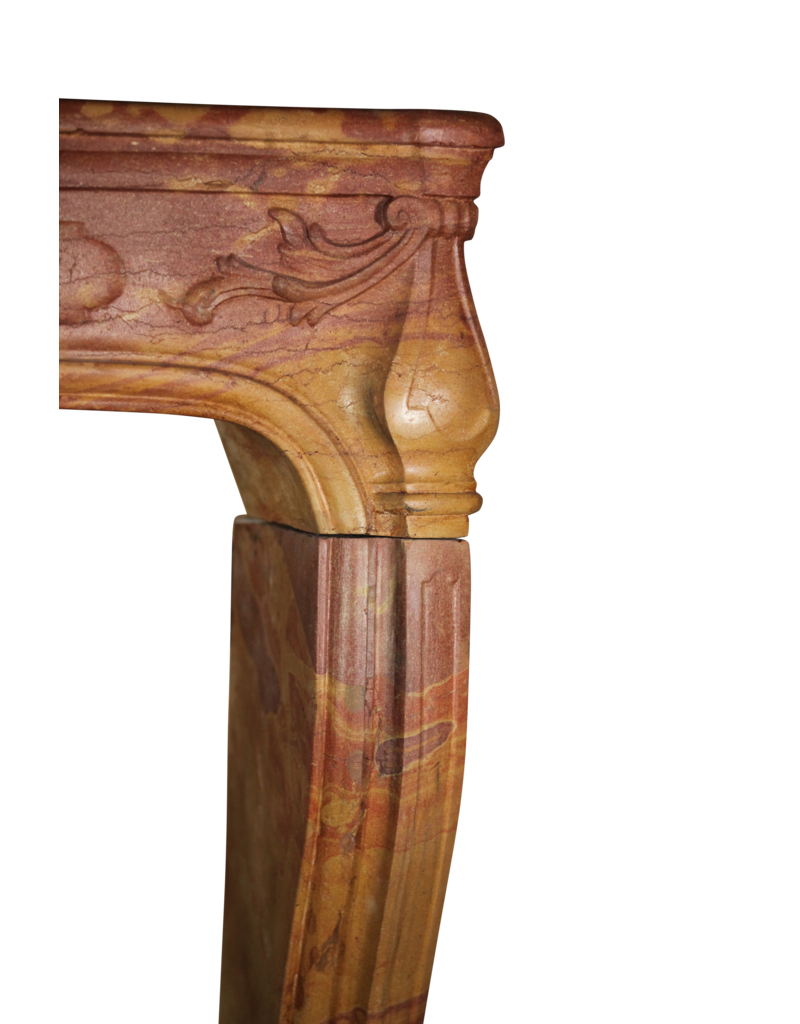 The Antique Fireplace Bank Classic Bicolor 18Th Century French Vintage Fireplace Surround