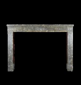 The Antique Fireplace Bank zeitloses Chique Französisch Fossil Stein Kaminmaske