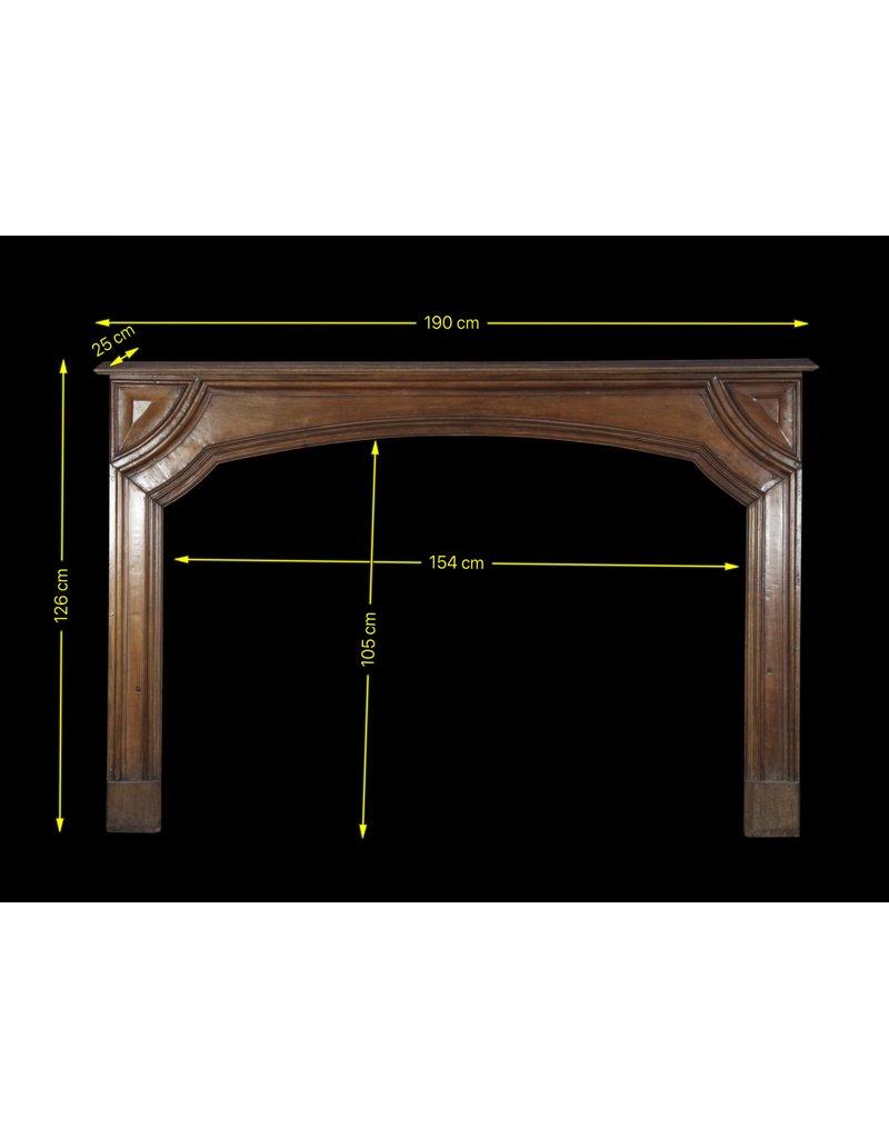 The Antique Fireplace Bank Francés Con Clase De La Nuez Chimenea De La Vendimia