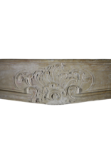 Delicate Classic French Antique Fireplace Surround