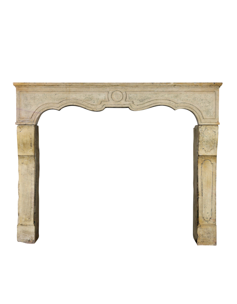 18Th Century French Rustic Chique Fireplace Surround