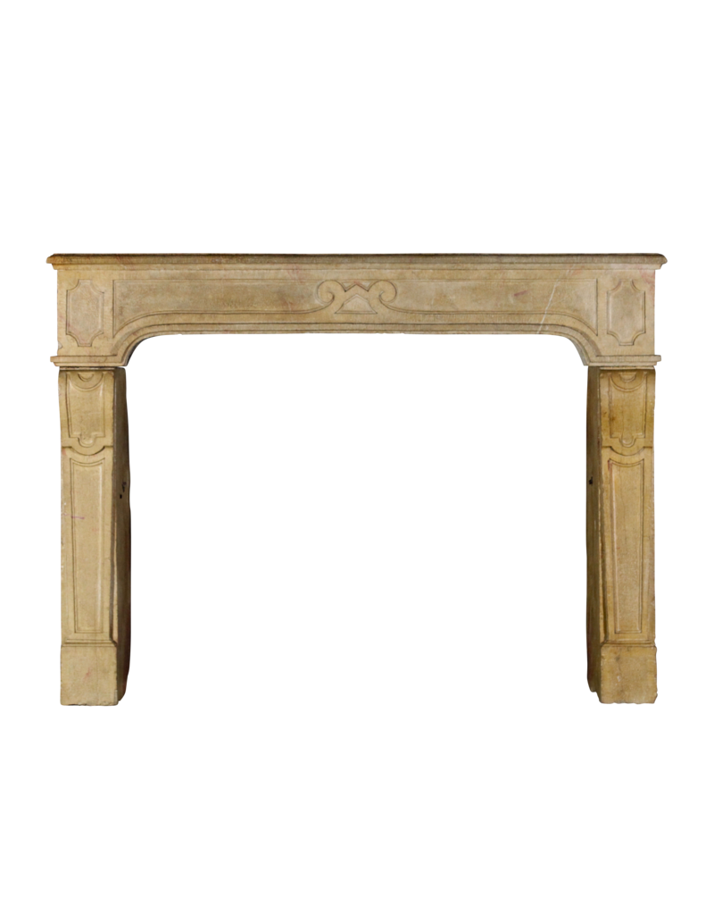 Fine Classic French Antique Stone Fireplace Surround