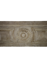 The Antique Fireplace Bank Französisch Rustic Kalkstein Kaminmaske