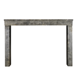 Timeless Chique French Bicolor Stone Fireplace Surround